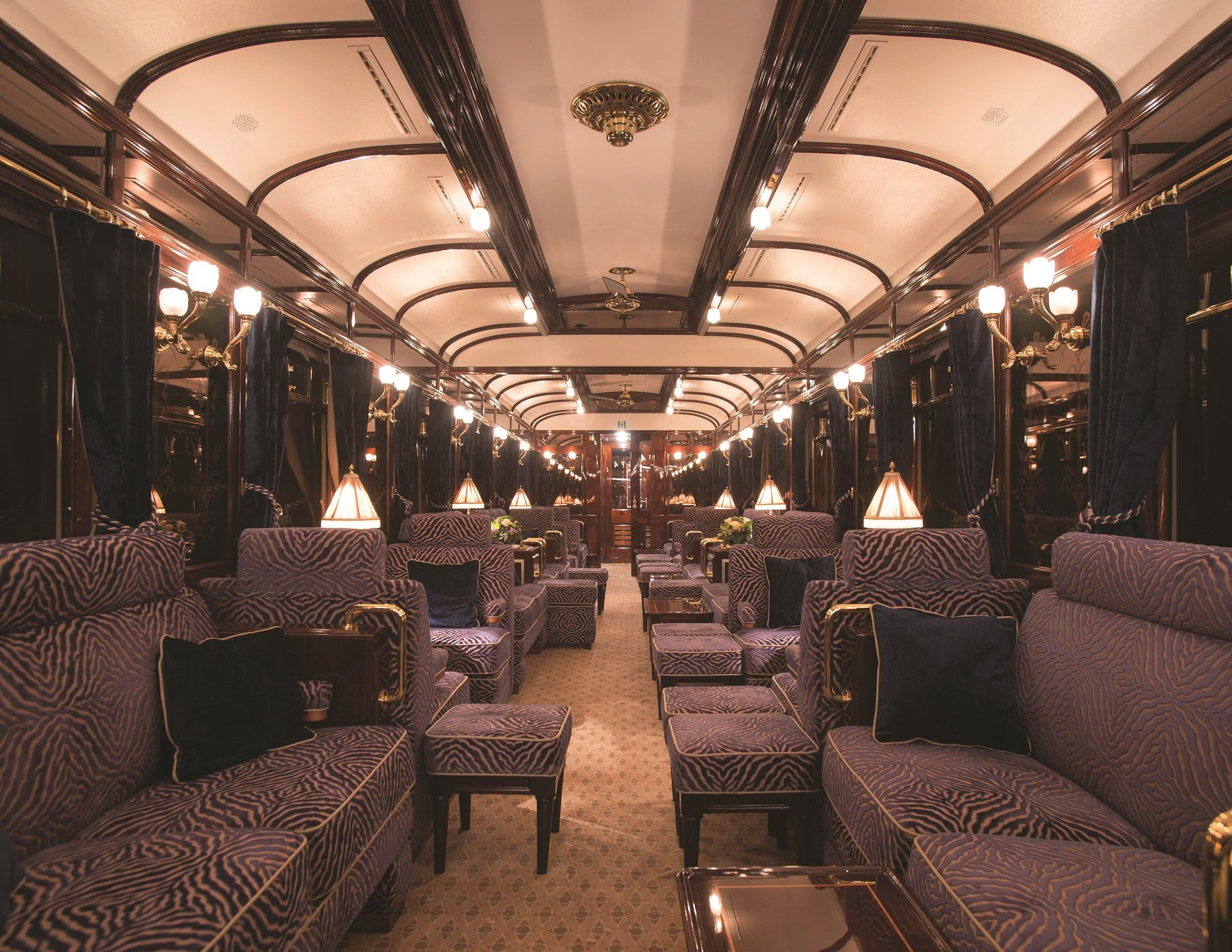the orient express gets a new luxurious bar car. Black Bedroom Furniture Sets. Home Design Ideas