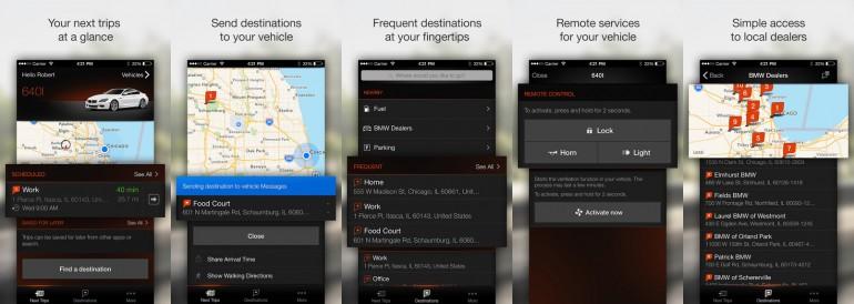 bmw-app-screens