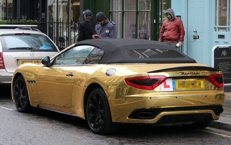 gold Maserati (1)
