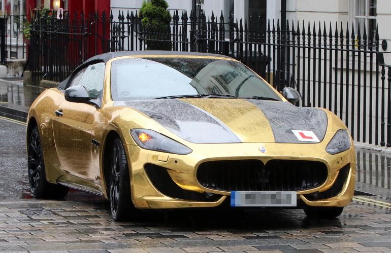 gold Maserati (2)