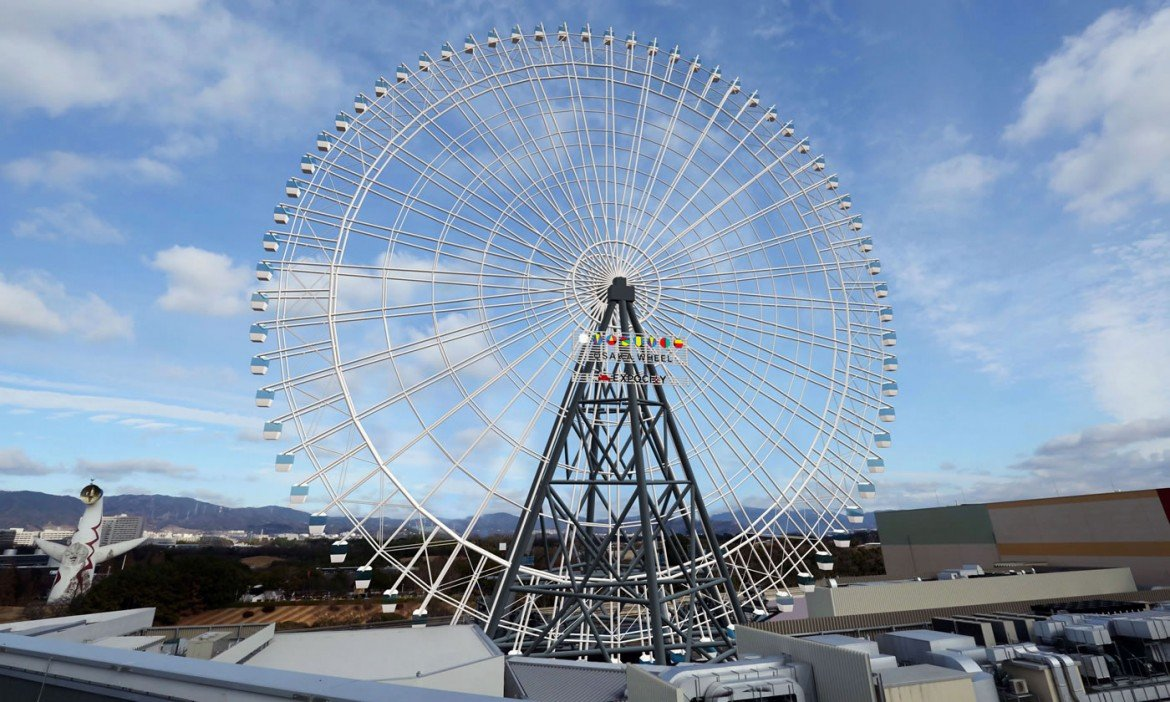 Japan Is Making A Ferris Wheel That Will Dwarf The London