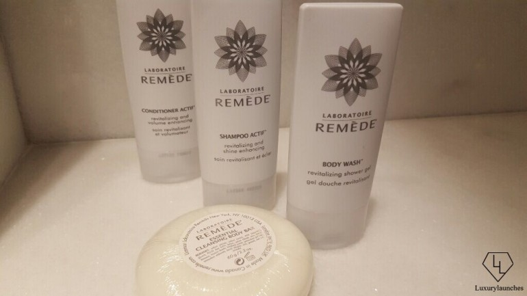 Advanced French bath and body collection, exclusive to St Regis