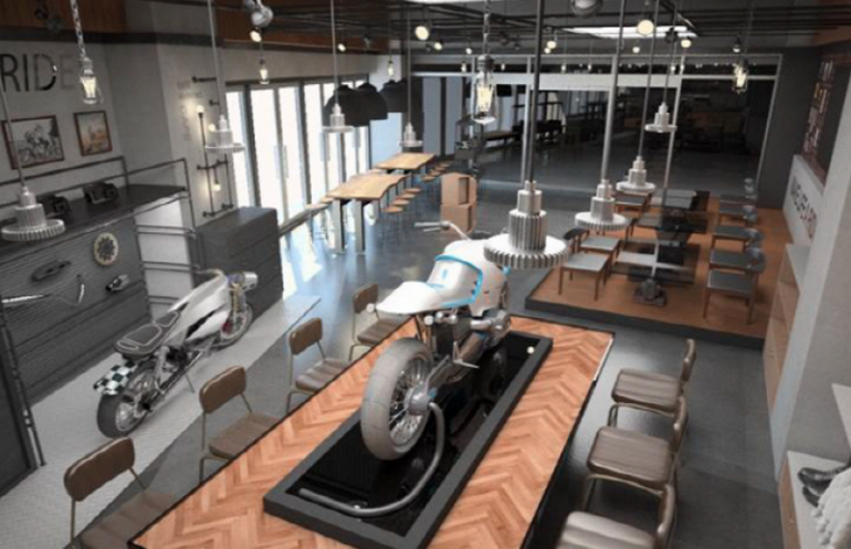 BMW-Motorcycle-Cafe-Korea