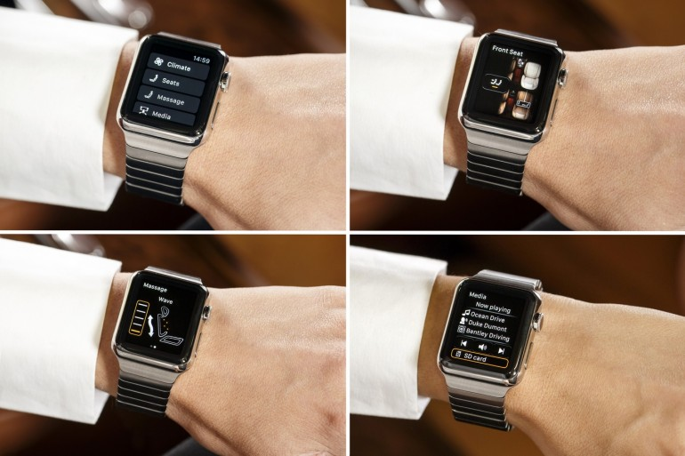 Bentley new Bentayga Apple Watch App