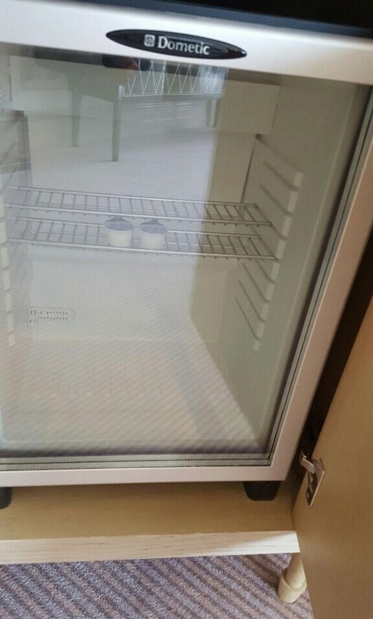 But alas, empty fridge. Again - St Regis exclusivity