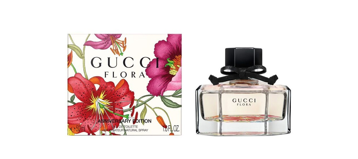 Gucci Pays Tribute To 50 Years Of Its Floral Print By