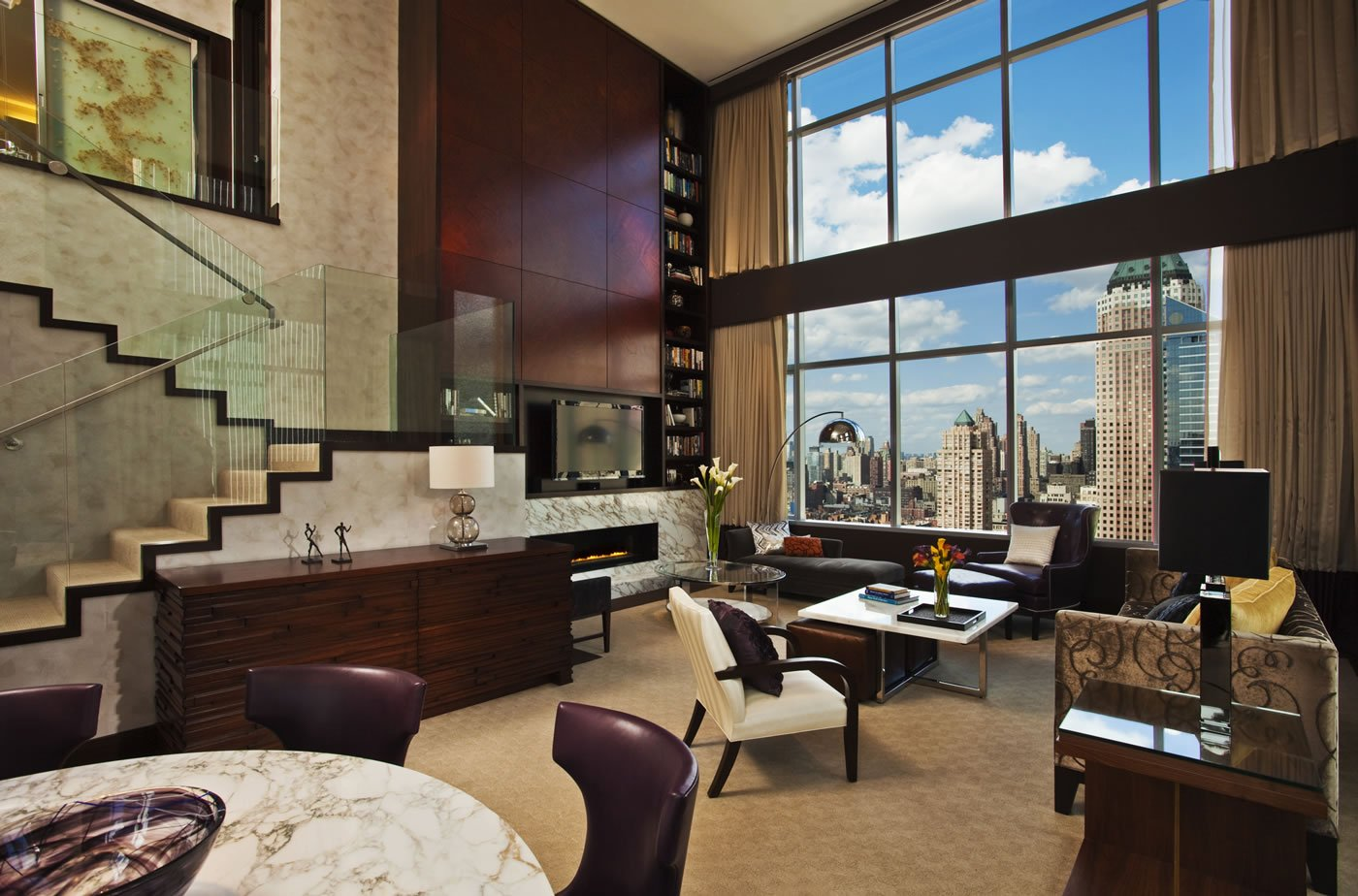 In a mood to splurge here are the 7 most decadent suites for Most expensive penthouse in nyc