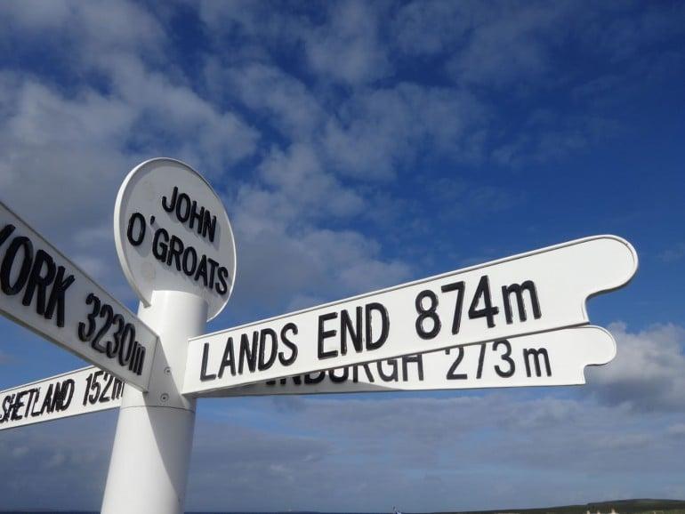 John O Groats Famous Sign