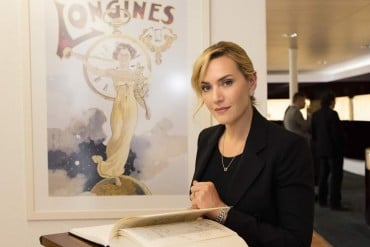 Kate Winslet visits Longines