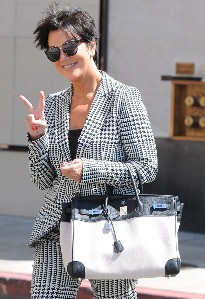 Check out Kris Jenners Hermes bag collection with an