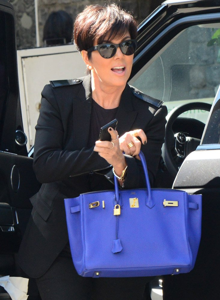 check out kris jenner�s hermes bag collection with an