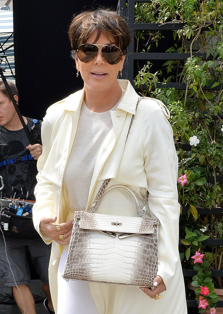 Hermès Himalayan Crocodile Kelly Bag, 25cm, $116,000