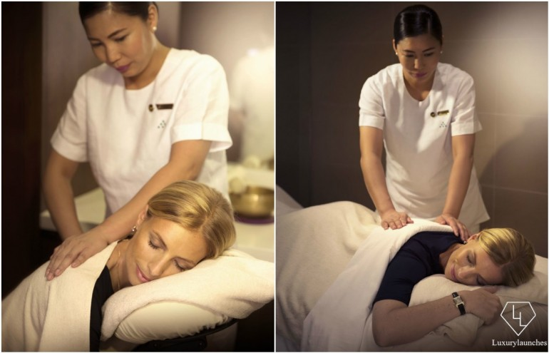Massage at Six Senses Spa