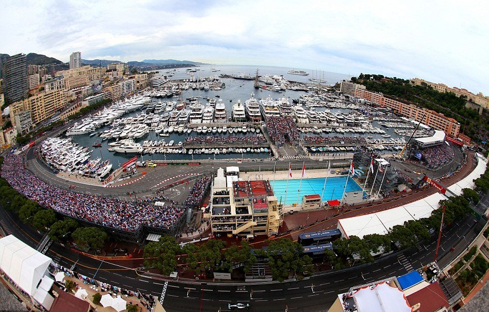 Monaco holds the record in the modern F1 era