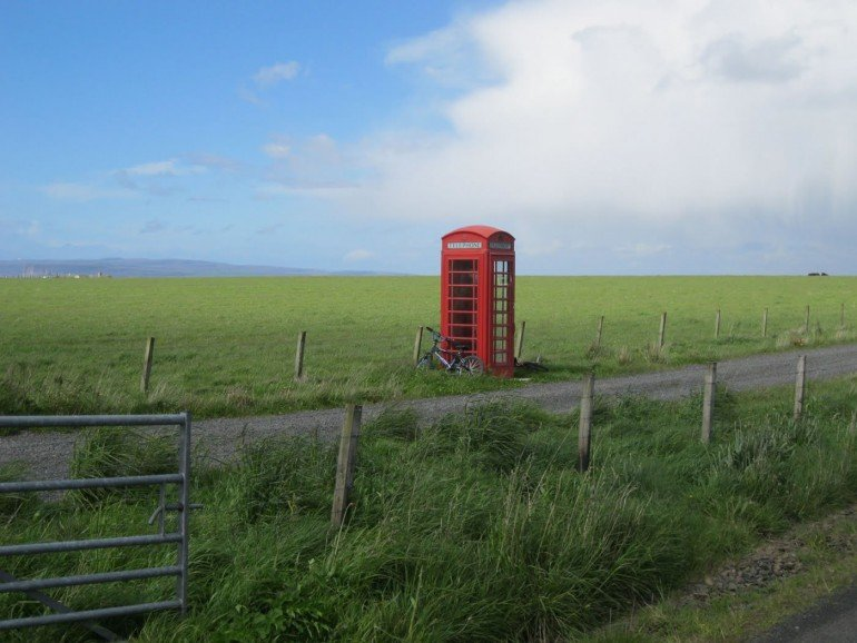 Most Northerly Telephone Box