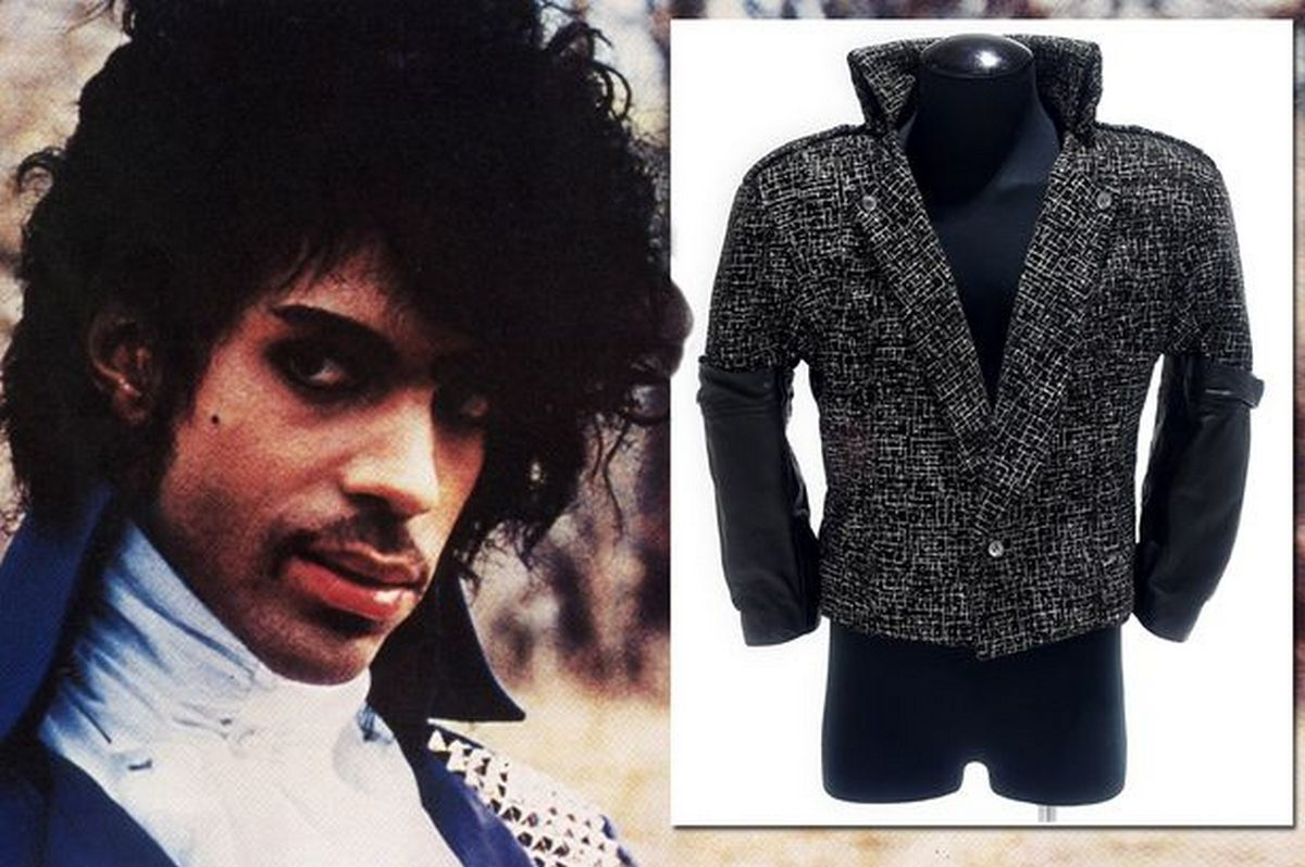 Prince's Purple Rain jacket to go under the hammer, could ...