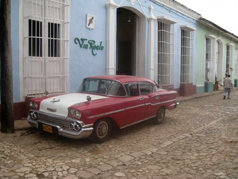 Republic of Cuba; Trinidad; 1958 Chevrolet Bel Air