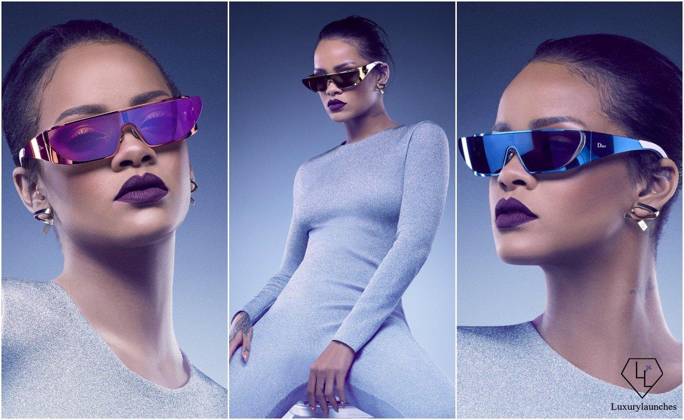Rihanna designs a sci-fi inspired eyewear line for Dior : Luxurylaunches