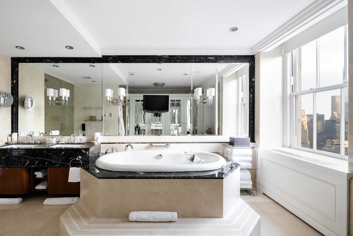In a mood to splurge here are the 7 most decadent suites for Master suite bathroom