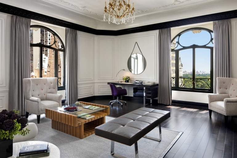 The Bentley Suite at The St. Regis New York Living Room