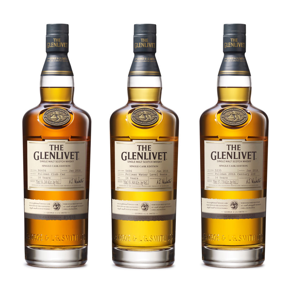 The Glenlivet Pays Tribute To Pullman Trains With Three