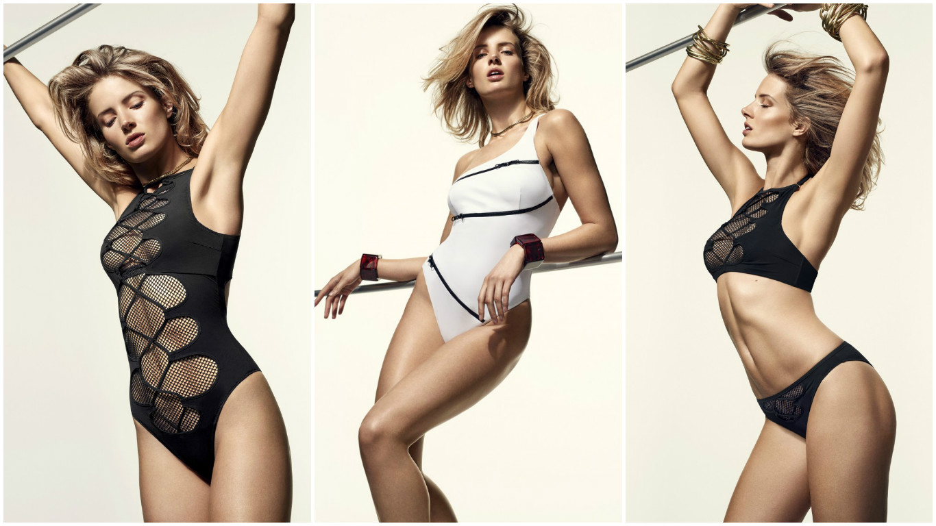 08721b0eca Agent Provocateur reveals  90s inspired swimwear for summer -