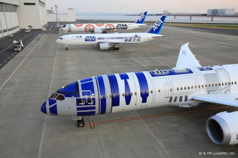 Japan's ANA airlines has made the best Star Wars opening theme ever