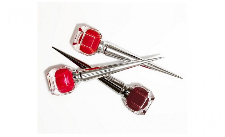 Louboutin reveals trio of Neo Red nail polishes -