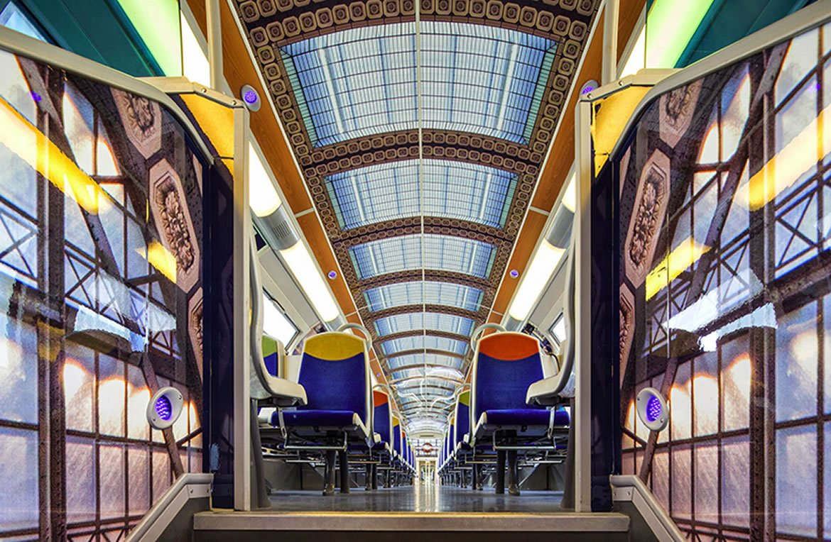 France partners with 3M so that its public trains are also an 'object de art'
