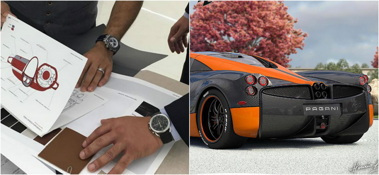 a match made in heaven - hermes and pagani are creating a custom one