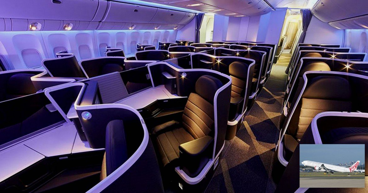 Inside Virgin Australia S New Trendy And Luxurious