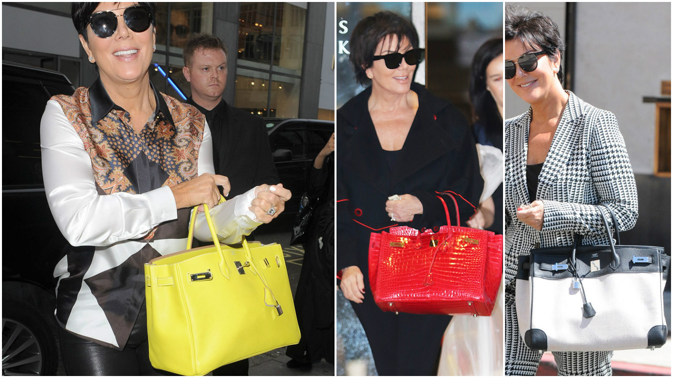 007af95c0b7 Check out Kris Jenner s Hermes bag collection with an estimated worth of  half a million dollars! -