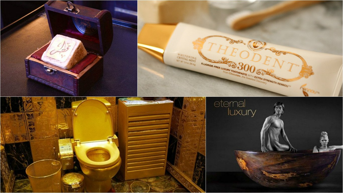 Gold Toilet Seats To Titanium Toothbrushes The 7 Most