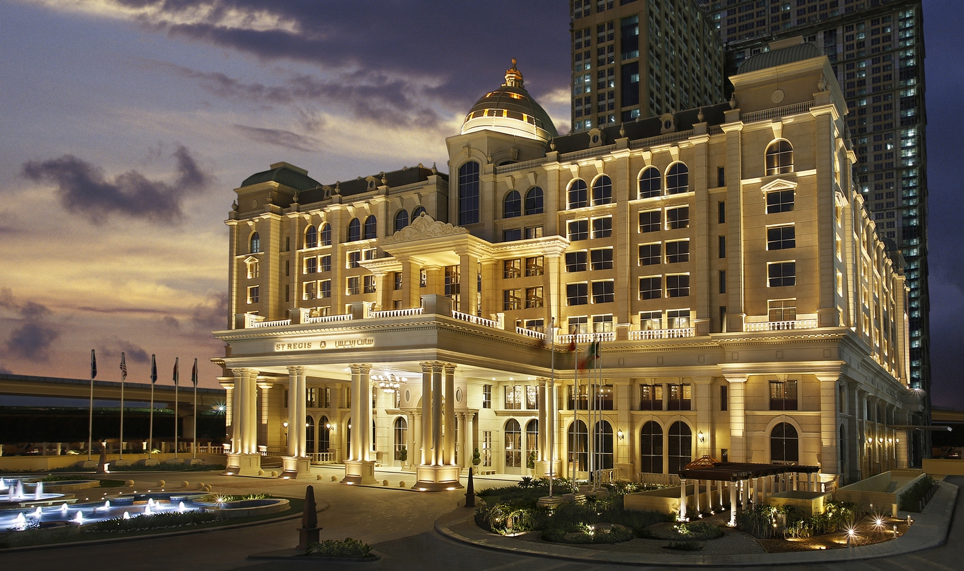 The st regis dubai review for Top hotels in dubai 2016