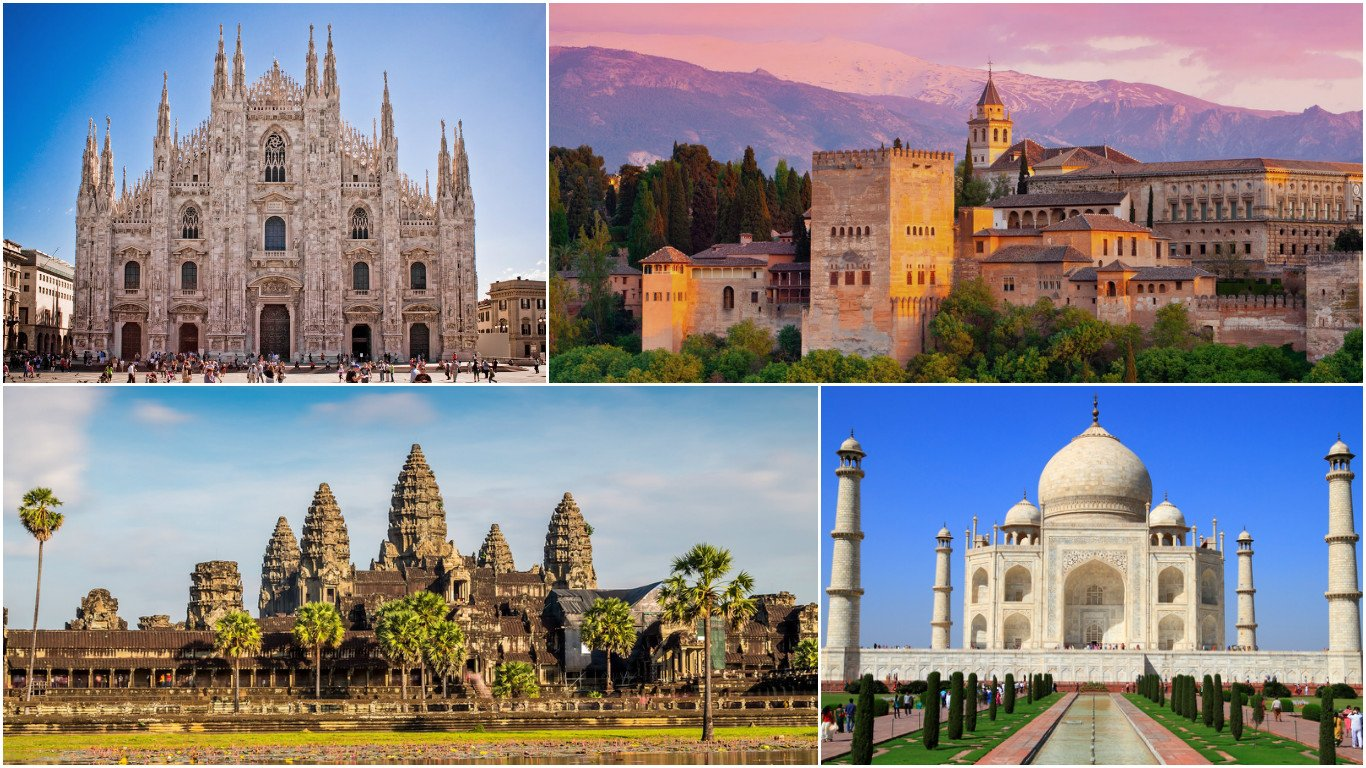 World 39 s 10 most popular landmarks for 2016 according to for Special landmarks