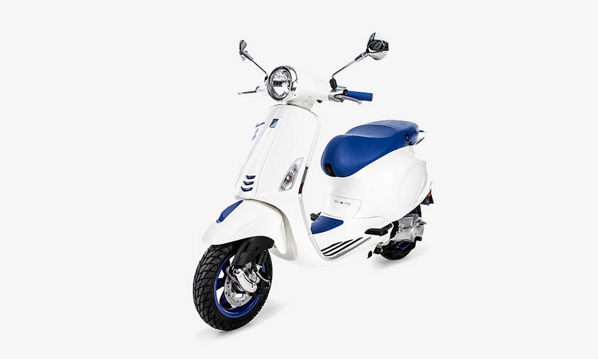 Vespa partners with French boutique Colette for one of a kind anniversary scooter : Luxurylaunches