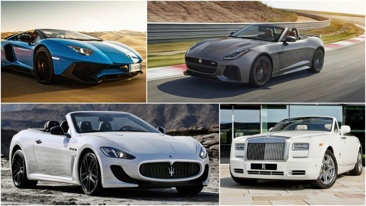 The 11 Most Expensive Convertibles In The World