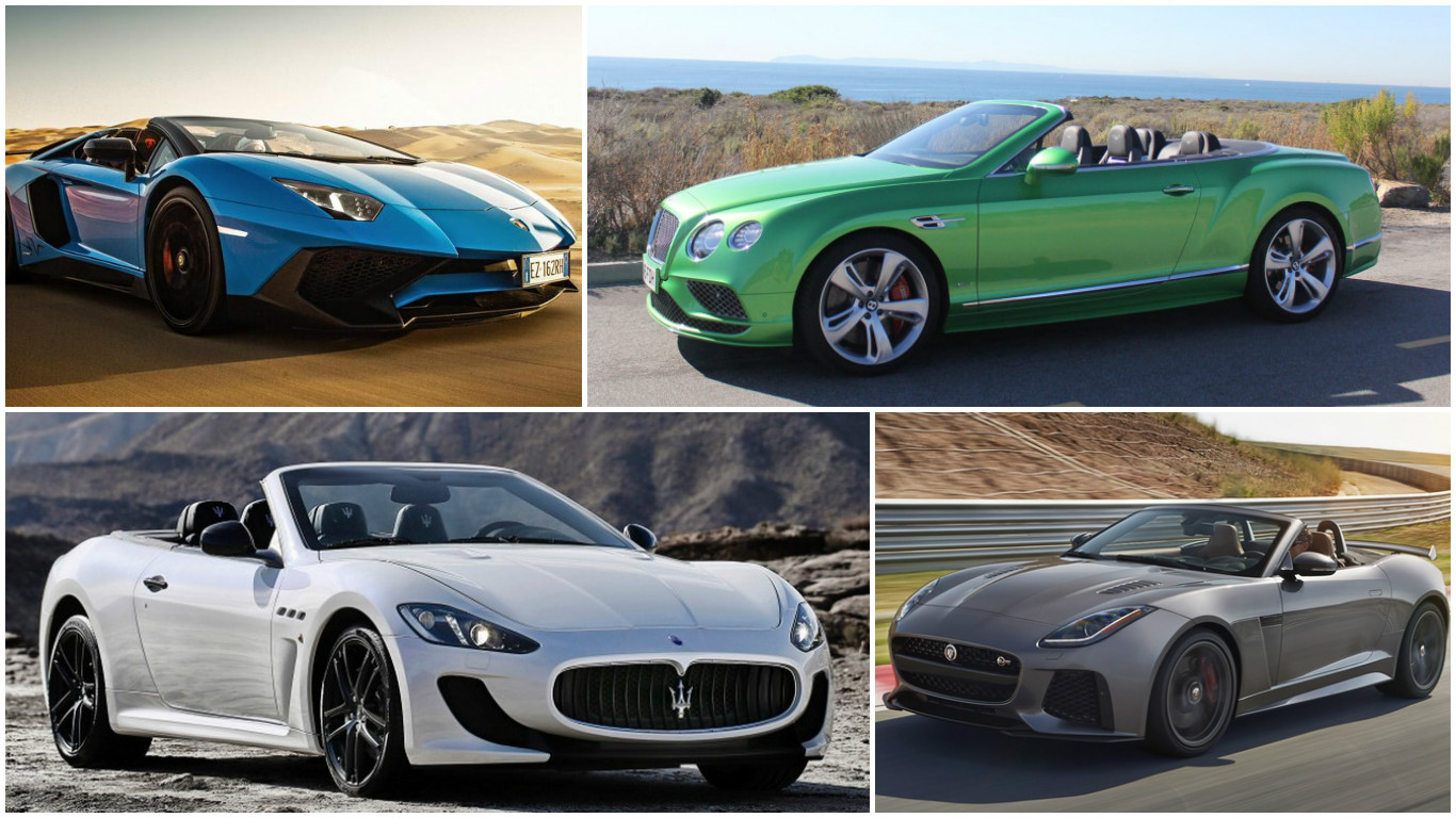 How Much Is A Lamborghini >> The 11 most expensive convertibles in the world (2016)