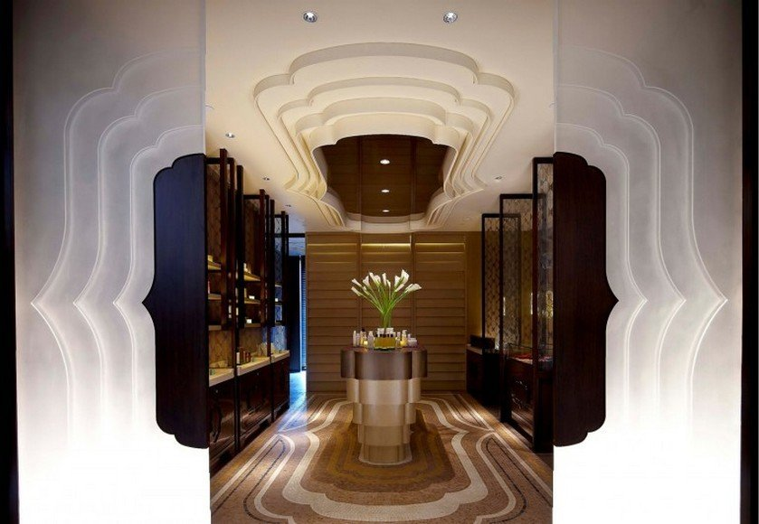 9-The-entrance-of-the-spa-features-a-cloud-silhouette-motif-that-is-seen-throughout-the-spa-in-its-décor-and-light-fixtures-770x532