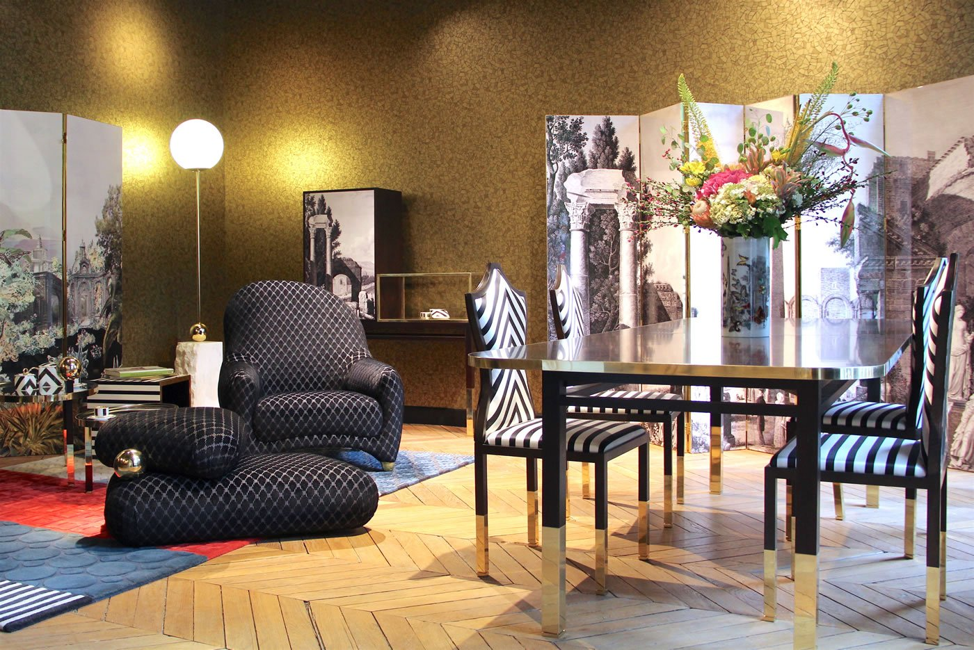 Roche Bobois And Christian Lacroix Collaborate Over A