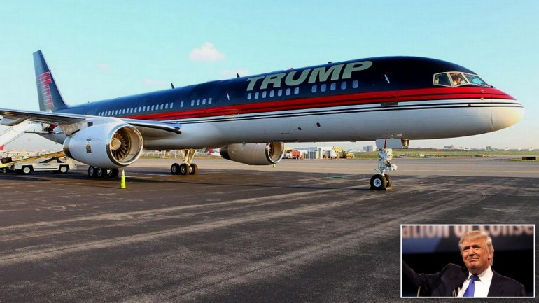 Donald Trump jet