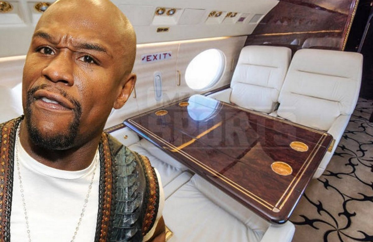 Inside Floyd Mayweather S Swanky New Private Jet