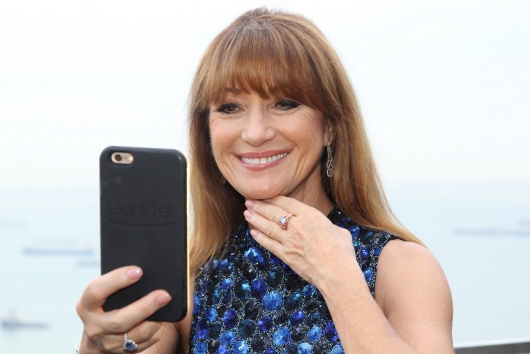 Jane Seymour with The Jane Seymour