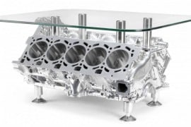 Lamborghini-V10-Engine-Coffee-Table