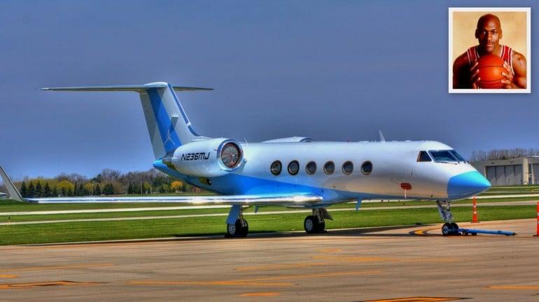 Michael Jordan - Gulfstream IV