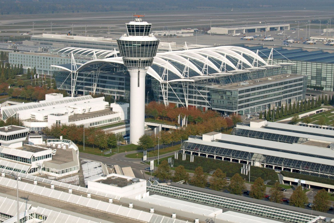 5 reasons munich airport s new satellite terminal is the coolest in europe. Black Bedroom Furniture Sets. Home Design Ideas