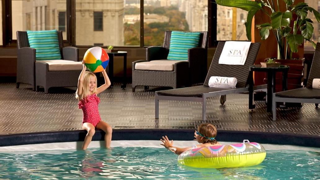 Peninsula spa new york review - New york hotels with swimming pools ...