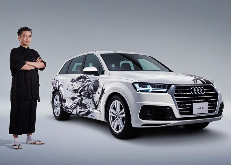 Sumi-e-painted-Audi-Q7 (1)