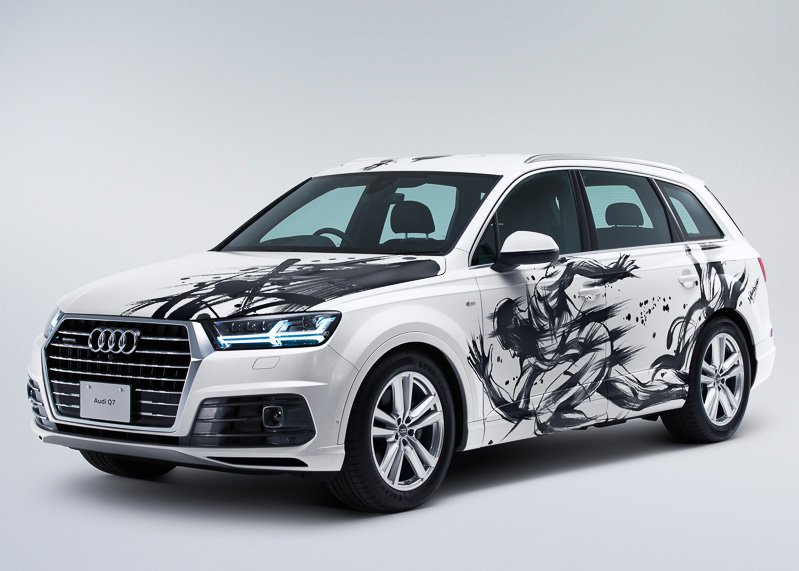 Sumi-e-painted-Audi-Q7 (2)