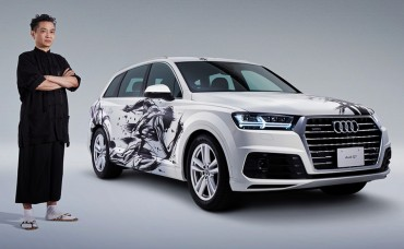 Sumi-e-painted-Audi-Q7